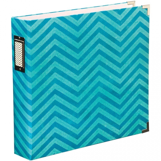 Альбом Project Life Printed Chipboard D-Ring Album 12 - Maggie Holmes -Chevron