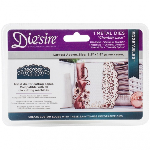 Нож для вырубки Die'sire Edge'ables Metal Dies Chantilly Lace