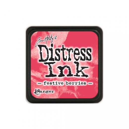 Подушечка с чернилами Ranger Tim Holtz Distress Mini Ink Pad 3х3 см Festive Berries (789541039969)