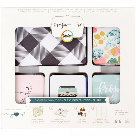 Набор карточек Project Life Core Kit Gather
