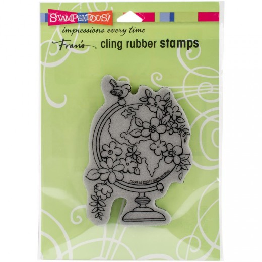 Штамп Stampendous - Blooming Globe