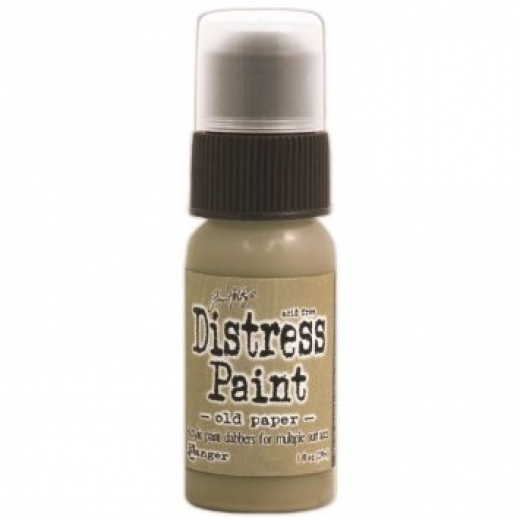 Краска Tim Holtz Distress Paint 30 мл Old Paper (TDD 38849)