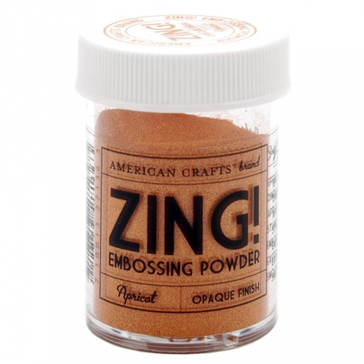 Пудра для эмбоссинга American Crafts Zing Opaque Embossing Apricot (718813271363)