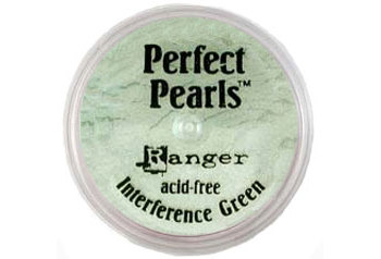 Жемчужная пудра Ranger Perfect Pearls Open Stock Interference Green (PPP - 17769)