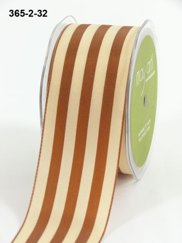 Лента May Arts Solid Stripes Antique 90 см Gold Ivory (365 - 2 - 32)