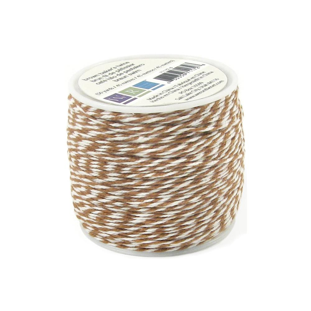 Шнур We R Memory Keepers Sew Easy Baker's Twine Коричневый (SEBTS - 71172)