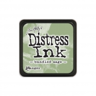 Подушечка с чернилами Ranger Tim Holtz Distress Mini Ink Pad 3х3 см Bundled Sage (789541039891)