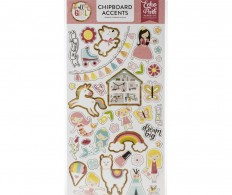 фото Чипборд All Girl Chipboard, Accents