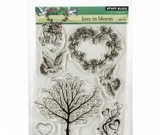 фото Штамп Penny Black Clear Stamps Love In Bloom