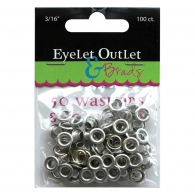Набор люверсов 4,7мм - Eyelet Outlet Eyelets & Washers (810787022771)
