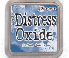фото Штемпельная подушка Distress Oxides - Faded Jeans