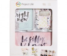 Набор карточек Project Life Value Kit , Inspired W/Stitching & Die-Cuts