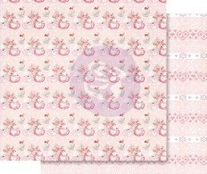 Лист скрапбумаги Santa Baby Pink Foiled - Warm & Cozy