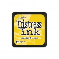 Подушечка с чернилами Ranger Tim Holtz Distress Mini Ink Pad 3х3 см Mustard Seed (789541040040)