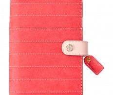 фото Планер без наполнения Color Crush Faux Leather Personal Planner - Pink Stitched Stripe