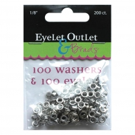 Набор люверсов 3мм - Eyelet Outlet Eyelets & Washers (810787022764)