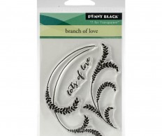 фото Штампы Penny Black Clear Stamps Branch Of Love