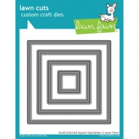 Набор ножей от Lawn Fawn - Small Stitched Square Stackables