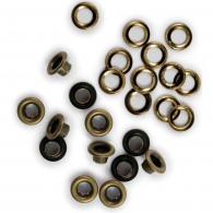 Люверсы от We R Memory Keepers - Eyelets & Washers Standard - Brass