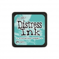 Подушечка с чернилами Ranger Tim Holtz Distress Mini Ink Pad 3х3 см Evergreen Bough (789541039945)