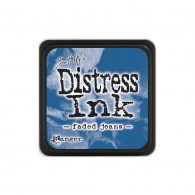 Подушечка с чернилами Tim Holtz Distress Mini Ink Pad - Faded Jeans