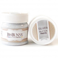 Глитерная паста BoBunny Double Dot Glitter Paste 50 мл Silver (665573055927)