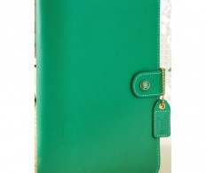 фото Планер с наполнением Color Crush Faux Leather Personal Planner - Summer Green
