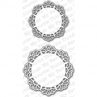 Ножи для вырубки My Favorite Things Decorative Doily Duo (815765012942)