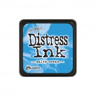 Подушечка с чернилами Ranger Tim Holtz Distress Mini Ink Pad 3х3 см Salty Ocean (789541040132)
