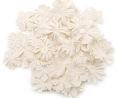 Набор цветов Wildflower Pillar Pack Paper Petals, White