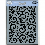 Трафарет Elizabeth craft designs Stencil Swirly Flourish (812755022608)