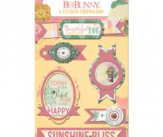 Чипборд Sunshine Bliss Adhesive Layered Chipboard