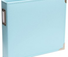 Альбом Project Life Classic Faux Leather D-Ring Album 20х20см,  Baby Blue