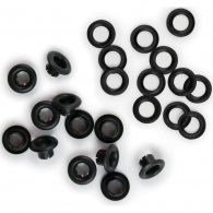 Люверсы от We R Memory Keepers - Eyelets & Washers Standard - Black
