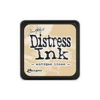Подушечка с чернилами Ranger Tim Holtz Distress Mini Ink Pad 3х3 см Antique Linen (789541039846)