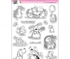 фото Набор штампов Penny Black Clear Stamps Critter Party