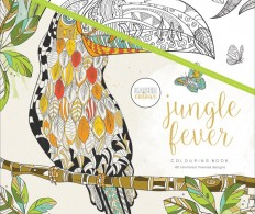 Раскрасска KaiserColour Perfect Bound Coloring Book 21см, Jungle Fever