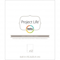 Файл 15*20 см Project Life Photo Pocket Pages - Design 1 (718813802895)