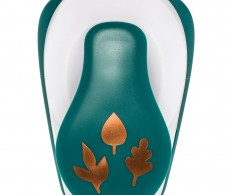 фото Фигурный дырокол Fiskars Lia Griffith Lever Punch Large Mini Leaf