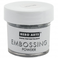 Пудра для эмбоссинга Hero Arts Embossing Powder Silver 28 г (85700580021)