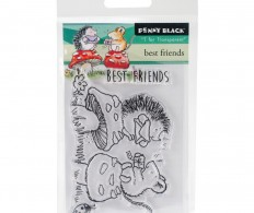 фото Штамп Penny Black Clear Stamps Best Friends