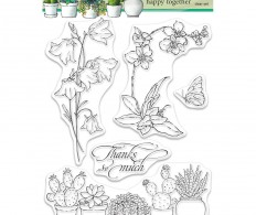 Набор штампов Penny Black Clear Stamps, Happy Together