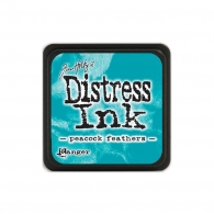 Подушечка с чернилами Ranger Tim Holtz Distress Mini Ink Pad 3х3 см Peacock Feathers (789541040064)
