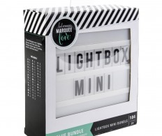 Мини лайтбокс Heidi Swapp Lightbox Mini Bundle - Includes Letters & Numbers