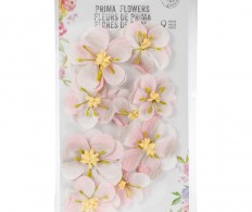 Набор цветов от Prima Marketing, Cherry Blossom Paper Flowers Mae Ella
