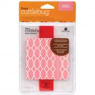 Папка для тиснения Cuttlebug A2 Embossing Folder/Border Set Modern Wallpaper