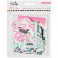 Набор высечек от  Crate Paper - Cute Girl Ephemera Die-Cuts (854196805099)
