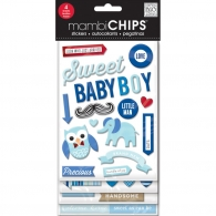 Чипборд Chipboard Value Pack Sweet Baby Boy