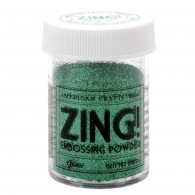 Пудра для эмбосинга American Crafts Green Zing Glitter Embossing (718813271554)
