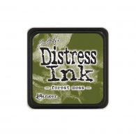 фото Подушечка с чернилами Ranger Tim Holtz Distress Mini Ink Pad 3х3 см Forest Moss